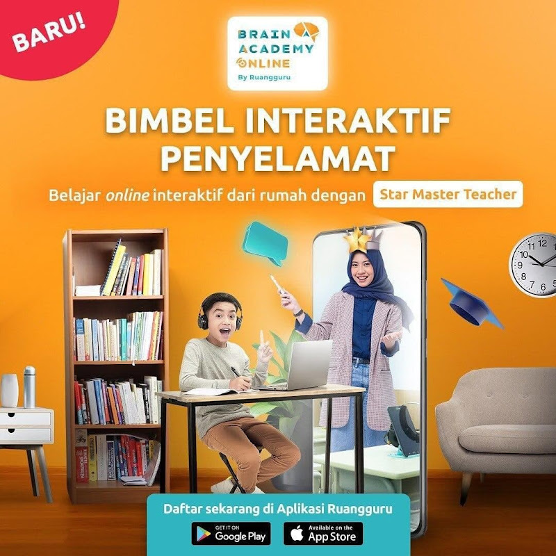 Aplikasi/Situs Bimbel Online Terbaik di Indonesia   Ruangguru