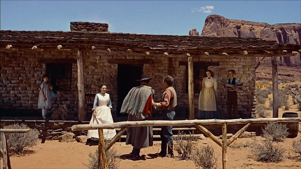 the searchers 1956 essay The searchers – dismantled ross hoveyda's essay is a lens into the extraordinary intellectual world of french film to john ford's the searchers (1956).