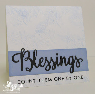 ODBD Many Blessings Stamp/Die Duos, Card Designer Angie Crockett