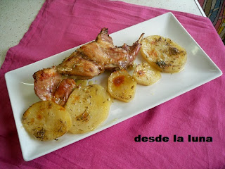 Conejo Al Horno Con Patatas Panadera