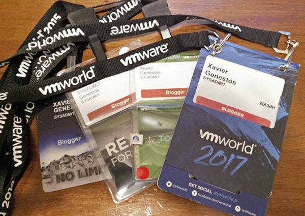 VMWare: VMWorld 2017 Barcelona