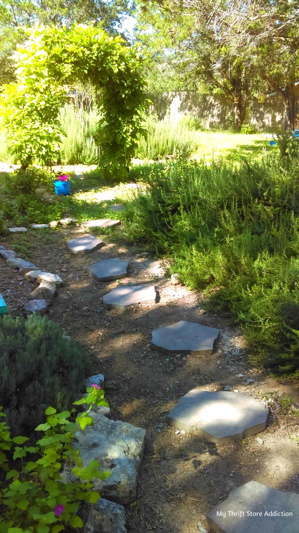 Beautiful garden paths
