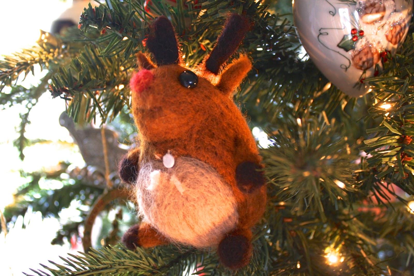 Schnauzer Christmas Ornaments