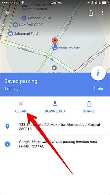 خرائط جوجل تطرح ميزة لتسهيل ركن عربيتك