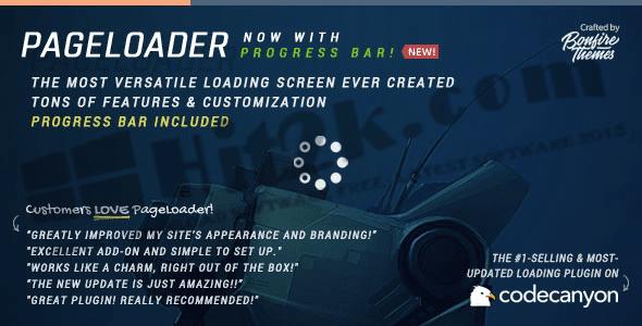 Pageloader v3.0 WordPress Plugin