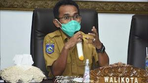 Walikota Bima  Pimpin  Rapat Koordinasi  penanganan  Penyebaran Covid 19