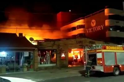 Menor que provocou incêndio no Centro de artesanato de Tambaú tem passagem pela polícia, afirma delegado