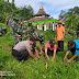 Dandim Karanganyar Cek Penanaman Pohon di Desa Gerdu