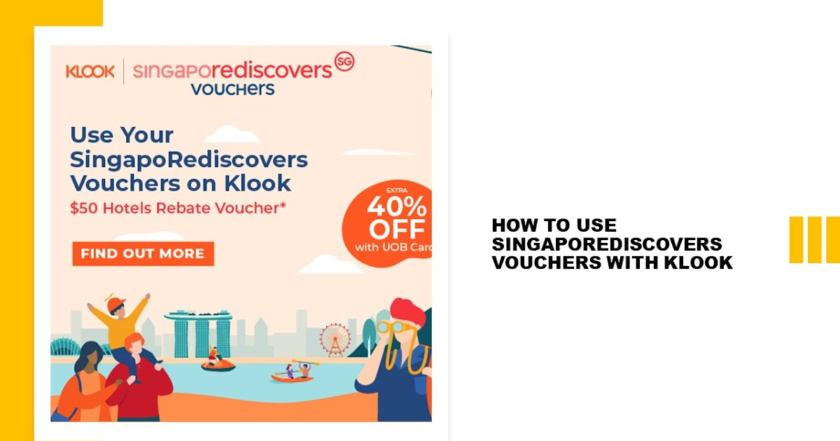How To Use Your Singaporediscovers Vouchers With Klook The Wacky Duo Singapore Family Lifestyle Travel Website