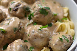 Savory Sweet Swedish Meatballs