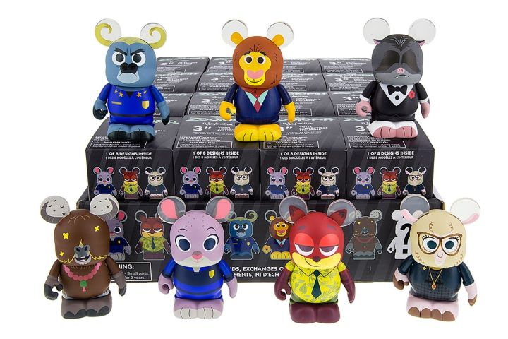 Merchandise Zootopia, tidak selaku Kung Fu Panda.