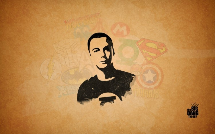 Papel de parede The Big Bang Theory - Sheldon