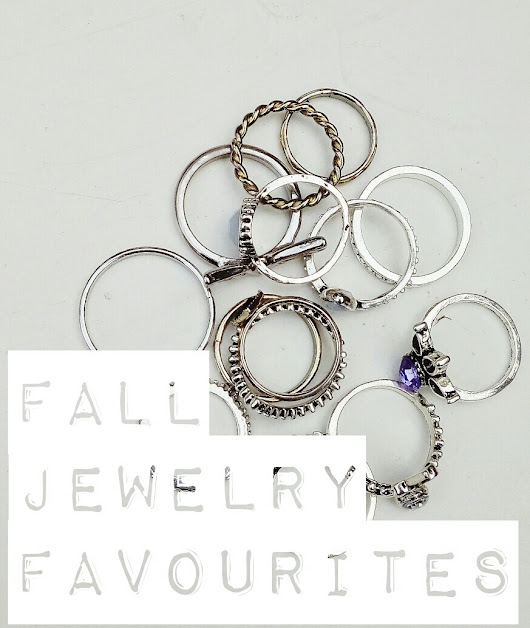 Fall Jewelry Favourites