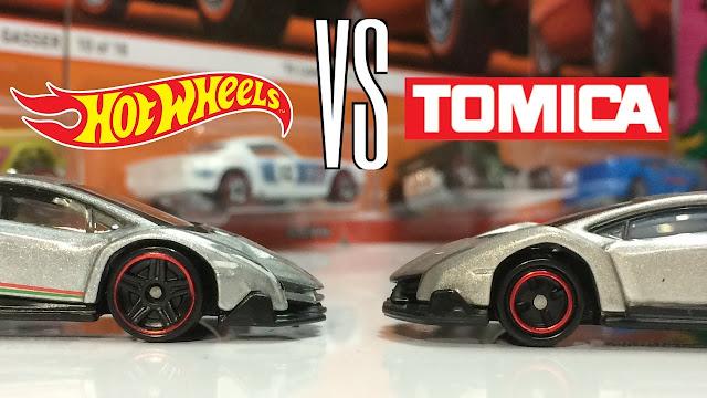 Hot Wheels vs Tomica, Lebih Bagus yang Mana?