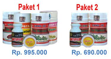 paket obat kutil kelamin 1 dan 2