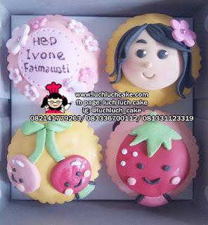 Cupcake Lucu Tema Makanan