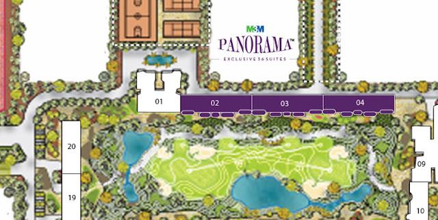 Master Plan - M3M Panorama Suites