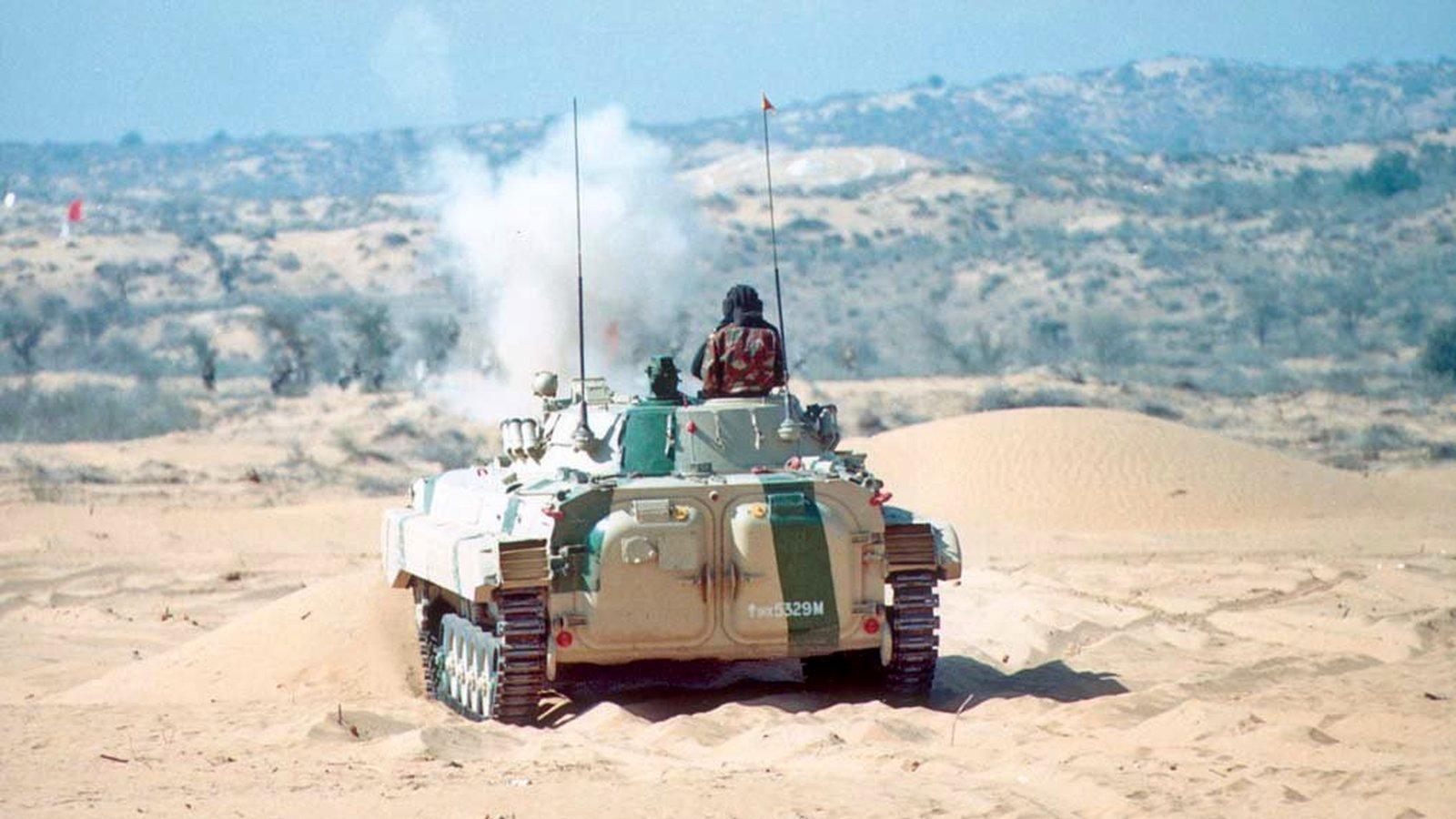 BMP-II - Infantry Combat Vehicle - ICV - Indian Army - 04