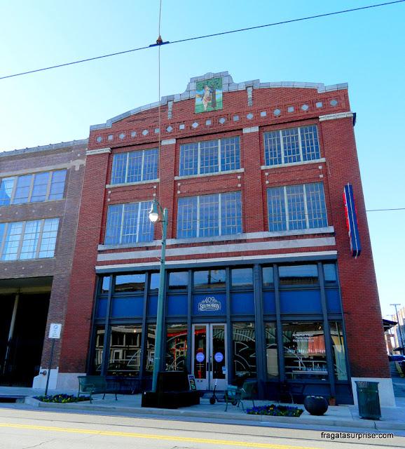 Arquitetura característica da virada do Século 20 em Memphis