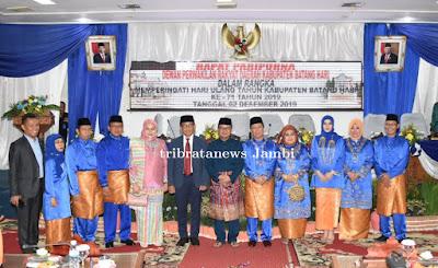 Kapolda Jambi Hadiri Kegiatan Rapat Paripurna Dalam Rangka Memperingati HUT Kabupaten Batanghari Ke-71