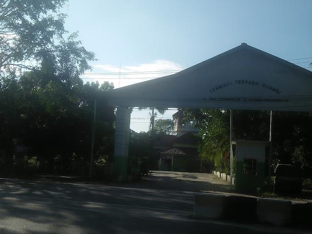 Terminal Terpadu Sijambi kini sudah bukan milik Pemko Tanjungbalai