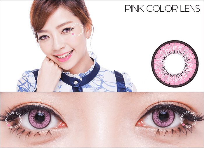 eos new adult pink circle lenses