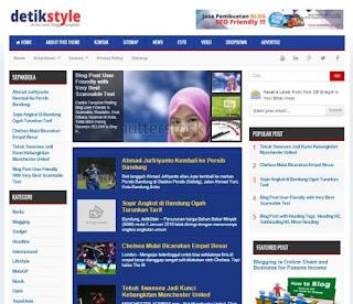 Detik Style - Template SEO Fast Responsive untuk Blog Berita