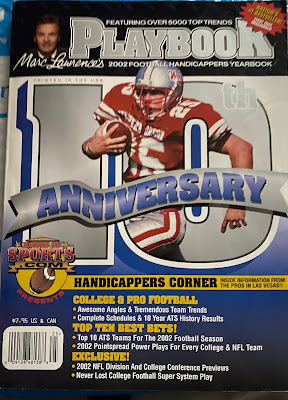 Marc Lawrence Playbook Handicappers Yearbook 2002