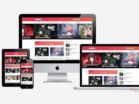 Animo - Best Blogger Template for Anime Blog - Responsive Blogger Template