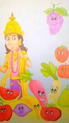 short Kahani lekhan in Hindi for kids