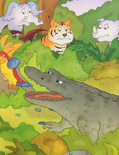 The Grumpy Crocodile - a bookwrap