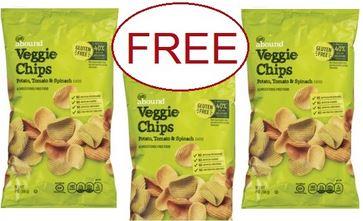 FREE Veggie Chips CVS Deals