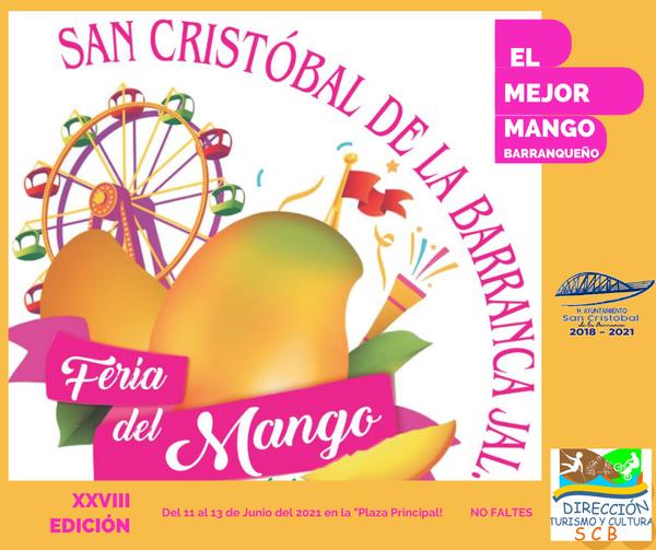 Feria del Mango San Cristóbal de la Barranca 2021