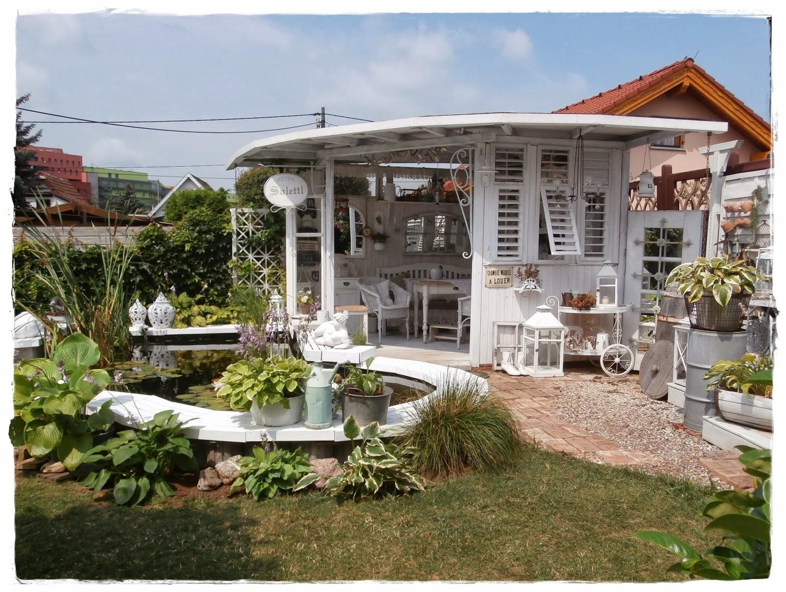 shabby landhaus vorher nacher garten laube. Black Bedroom Furniture Sets. Home Design Ideas