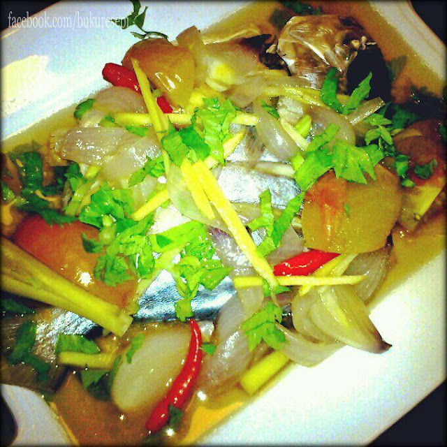 Resepi Ikan Bawal Emas Masak Sup