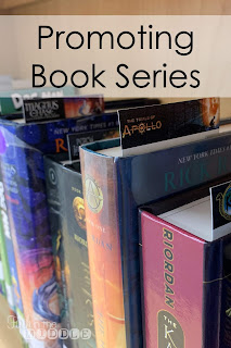 Promoting Book Series - Free bookmarks and summaries included in blog post
