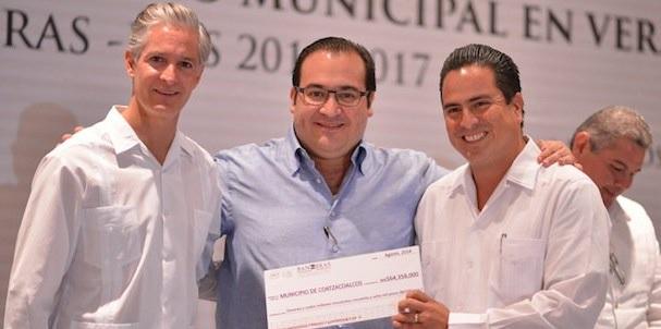 Alfredo del Mazo y Javier Duarte, inversiones