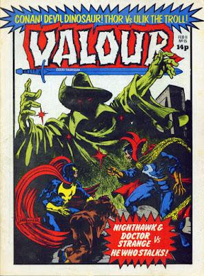 Valour #15, NIghthawk and Dr Strange vs Death Stalker