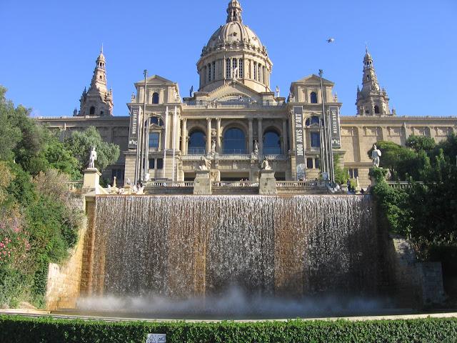 Hoteis em Montjuic, Barcelona