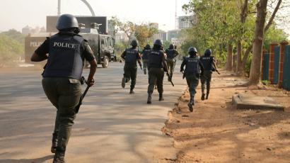 BREAKING:  Robbers Attack Bank In Osun state