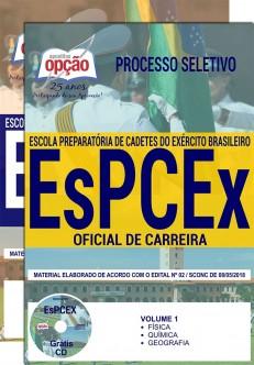 Apostila Oficial de Carreira do Exército - EsPCEx 2018