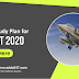 AFCAT and INET 2020 Study Plan: Check Here