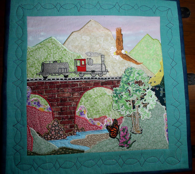 Dinah S Quilts And Embroidery Wall Hangings
