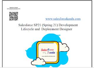 Salesforce SP21 (Spring 21) Development Lifecycle and Deployment Designer Dumps