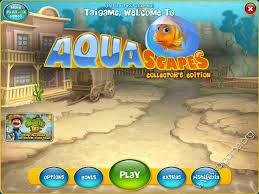 تحميل لعبة حوض السمك للاطفال download game aquascapes للكمبيوتر