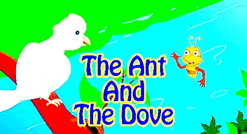 The Ant And The Dove Story With Moral In English