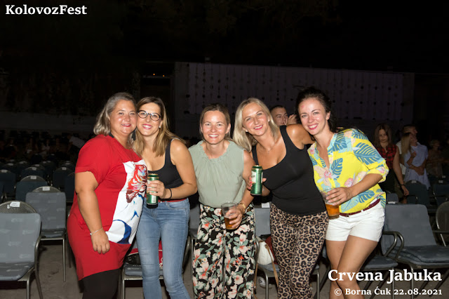 KolovozFest Opatija | Koncert Crvena Jabuka Foto: Borna Ćuk 22.08.2021