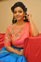 Nithya Shetty in Orange Choli at Kalamandir Foundation 7th anniversary Celebrations ~  Actress Galleries 111.JPG
