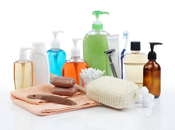 3. Towel and Toiletries