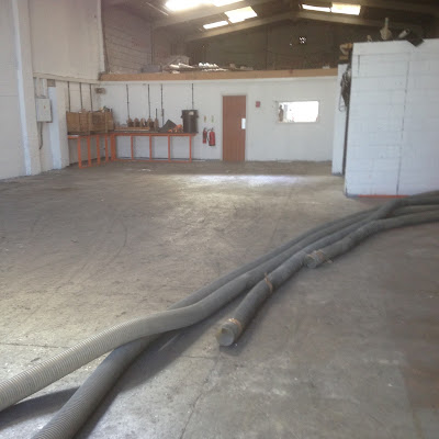 Floor Repairs and coating to Marine equipment test facility